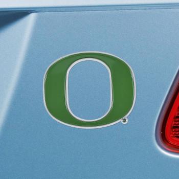 University of Oregon Green Color Emblem, Set of 2