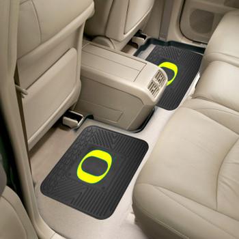 University of Oregon Heavy Duty Vinyl Car Utility Mats, Set of 2