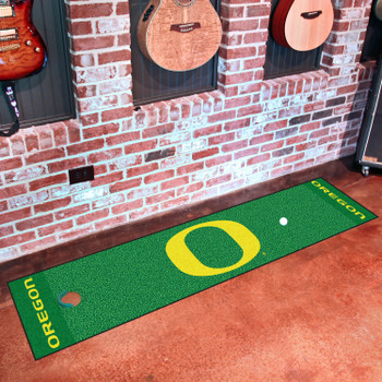 "18"" x 72"" University of Oregon Putting Green Runner Mat"
