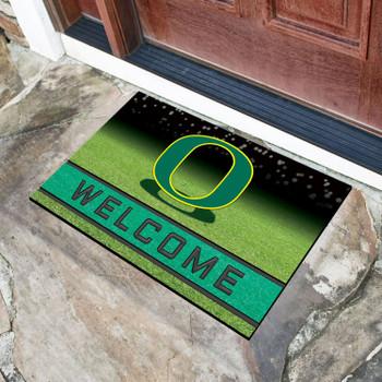 """18"""" x 30"""" University of Oregon Crumb Rubber Door Mat"""