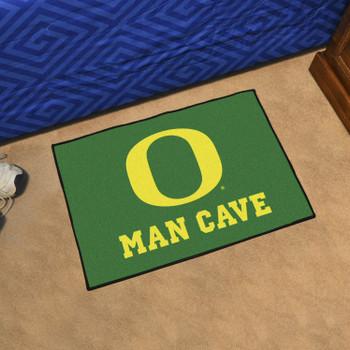 "19"" x 30"" University of Oregon Man Cave Starter Green Rectangle Mat"