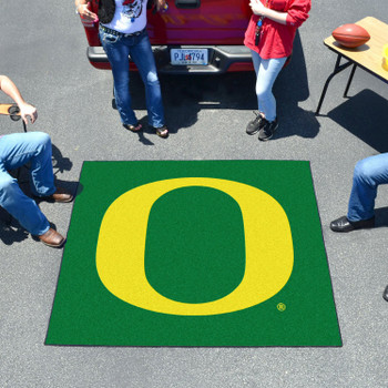"59.5"" x 71"" University of Oregon Green Tailgater Mat"