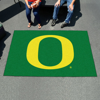 "59.5"" x 94.5"" University of Oregon Green Rectangle Ulti Mat"
