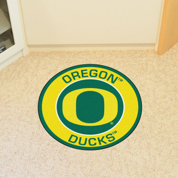 "27"" University of Oregon Roundel Round Mat"