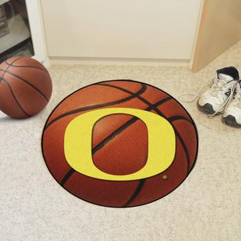 "27"" University of Oregon Basketball Style Round Mat"