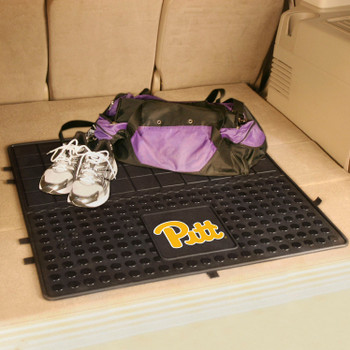 "31"" University of Pittsburgh Heavy Duty Vinyl Cargo Trunk Mat"