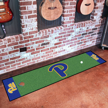 "18"" x 72"" University of Pittsburgh Putting Green Runner Mat"