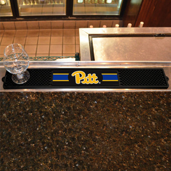 University of Pittsburgh Vinyl Drink Mat