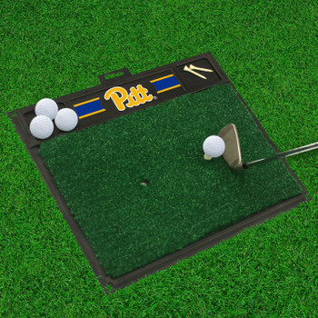 "20"" x 17"" University of Pittsburgh Golf Hitting Mat"
