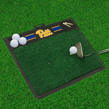 "20"" x 17"" University of Pittsburgh Golf Hitting Mat"