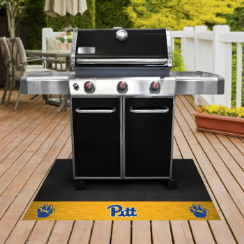 "26"" x 42"" University of Pittsburgh Grill Mat"