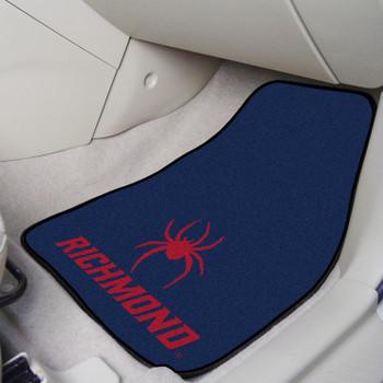 University of Richmond Carpet Car Mat, Set of 2