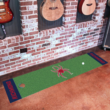 "18"" x 72"" University of Richmond Putting Green Runner Mat"