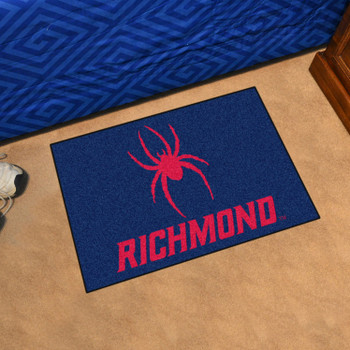 "19"" x 30"" University of Richmond Navy Blue Rectangle Starter Mat"