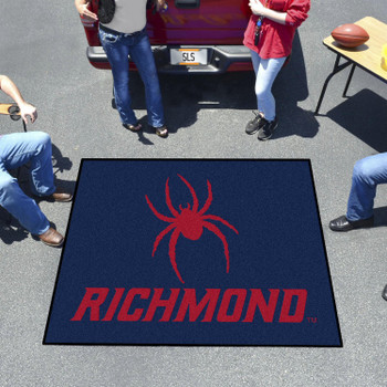 "59.5"" x 71"" University of Richmond Navy Blue Tailgater Mat"