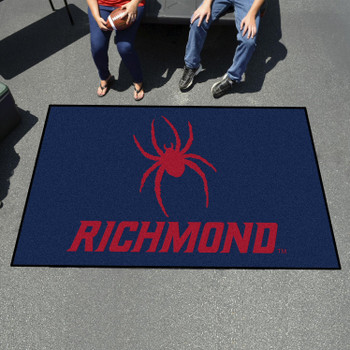 "59.5"" x 94.5"" University of Richmond Navy Blue Rectangle Ulti Mat"