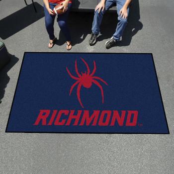 "59.5"" x 94.5"" University of Richmond Navy Blue Rectangle Ulti Mat"