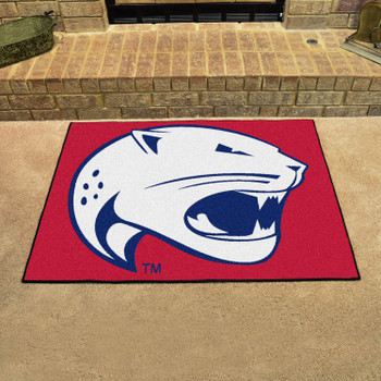 "33.75"" x 42.5"" University of South Alabama All Star Red Rectangle Mat"