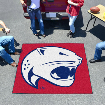 "59.5"" x 71"" University of South Alabama Red Tailgater Mat"