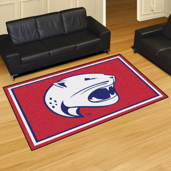 5' x 8' University of South Alabama Red Rectangle Rug