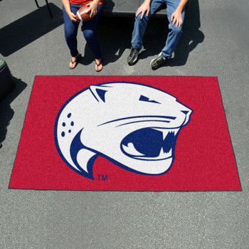 "59.5"" x 94.5"" University of South Alabama Red Rectangle Ulti Mat"