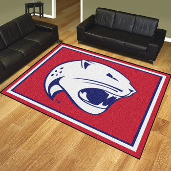 8' x 10' University of South Alabama Red Rectangle Rug