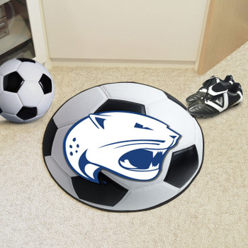 "27"" University of South Alabama Soccer Ball Round Mat"