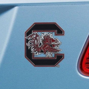 University of South Carolina Black Color Emblem, Set of 2