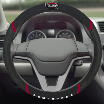 University of South Carolina Steering Wheel Cover