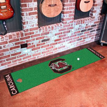"18"" x 72"" University of South Carolina Putting Green Runner Mat"