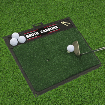 "20"" x 17"" University of South Carolina Golf Hitting Mat"