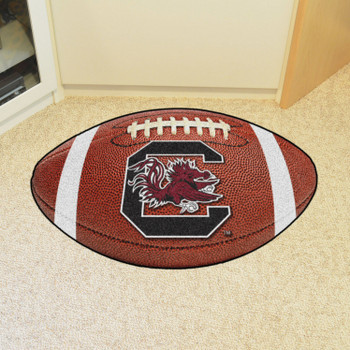 "20.5"" x 32.5"" University of South Carolina Football Shape Mat"