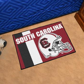"19"" x 30"" University of South Carolina Uniform Maroon Rectangle Starter Mat"