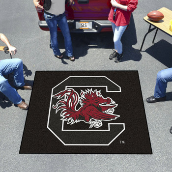 "59.5"" x 71"" University of South Carolina Black Tailgater Mat"