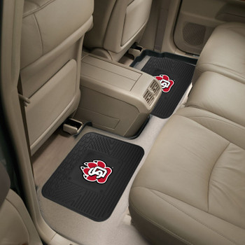 University of South Dakota Heavy Duty Vinyl Car Utility Mats, Set of 2
