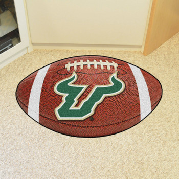 "20.5"" x 32.5"" University of South Florida Football Shape Mat"