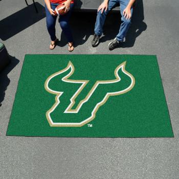 "59.5"" x 94.5"" University of South Florida Green Rectangle Ulti Mat"