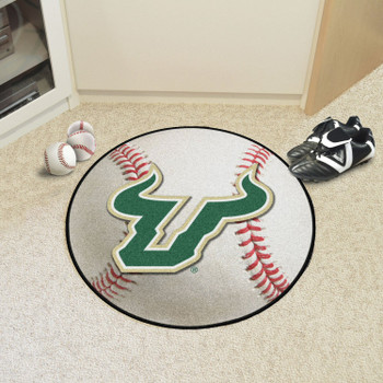 "27"" University of South Florida Baseball Style Round Mat"