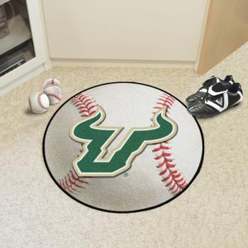 "27"" University of South Florida Baseball Style Round Mat"