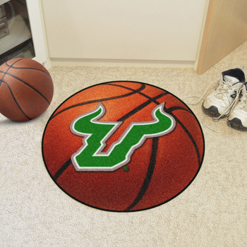"27"" University of South Florida Basketball Style Round Mat"
