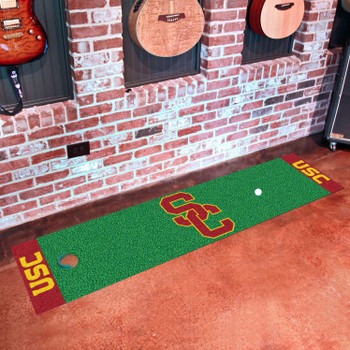 "18"" x 72"" University of Southern California Putting Green Runner Mat"