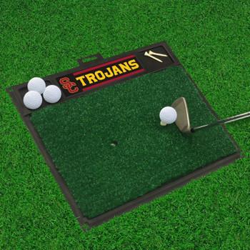 "20"" x 17"" University of Southern California Golf Hitting Mat"