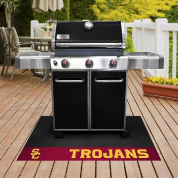 "26"" x 42"" University of Southern California Grill Mat"