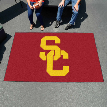 "59.5"" x 94.5"" University of Southern California Red Rectangle Ulti Mat"