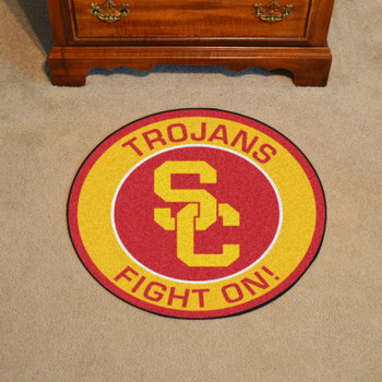 "27"" University of Southern California Roundel Round Mat"