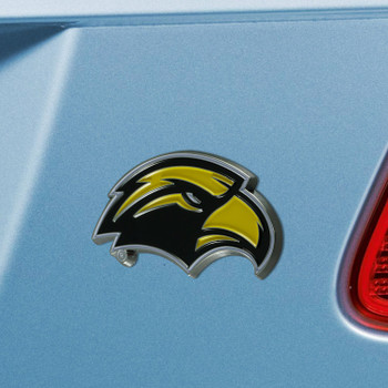 University of Southern Mississippi Yellow Color Emblem, Set of 2