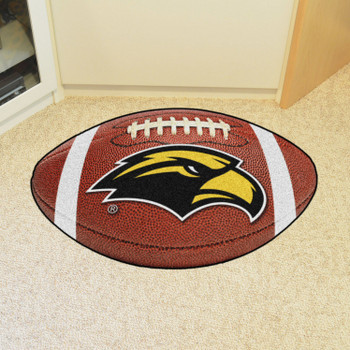 "20.5"" x 32.5"" University of Southern Mississippi Football Shape Mat"
