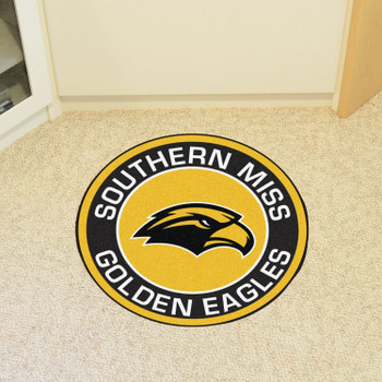 "27"" University of Southern Mississippi Roundel Round Mat"