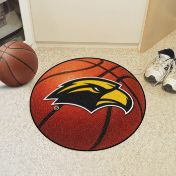 "27"" University of Southern Mississippi Basketball Style Round Mat"