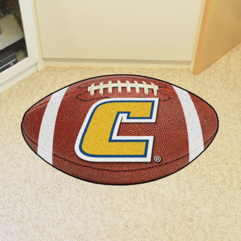 "20.5"" x 32.5"" University Tennessee Chattanooga Football Shape Mat"